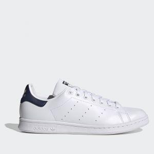 Scarpe ADIDAS Sneakers linea Stan Smith colore Bianco e Blu Navy