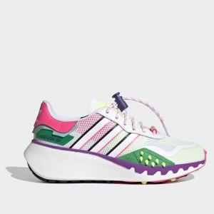 Scarpe Donna ADIDAS Sneakers linea Choigo colore Bianco Rosa e Viola