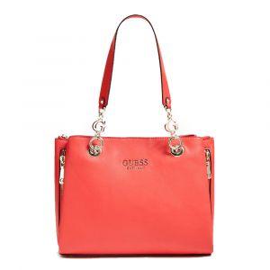Borsa Donna a Spalla GUESS Linea G Chain colore Rosso