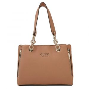 Borsa Donna a Spalla GUESS Linea G Chain colore Tan