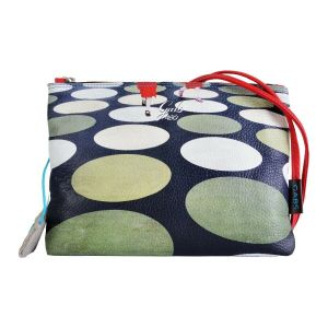 Pochette con Tracolla GABS Beyonce in Pelle Stampa Pois Medium