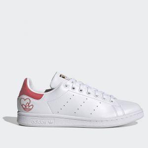 Scarpe Donna ADIDAS Sneakers linea Stan Smith colore Bianco e Rosa