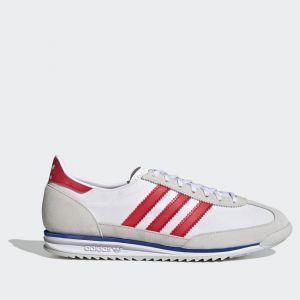 Scarpe ADIDAS Sneakers linea SL 72 colore Grigio Bianco e Rosso