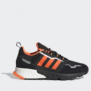 Scarpe Uomo ADIDAS Sneakers linea ZX 1K Boost colore Nero e Arancione