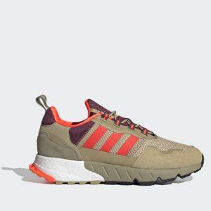 Scarpe Uomo ADIDAS Sneakers linea ZX 1K Boost colore Beige e Rosso