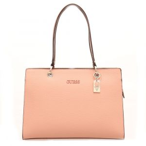 Borsa Donna a Spalla GUESS Linea Isla colore Rose Multi