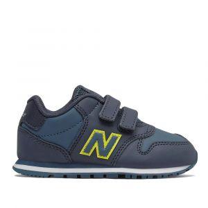 Scarpe Bambino NEW BALANCE Sneakers 500 in Pelle colore Natural Indigo