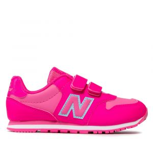 Scarpe Bambino NEW BALANCE Sneakers 500 in Tessuto Sintetico colore Pink