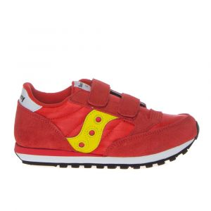 Scarpe Bambino Saucony Sneakers Jazz Double HL Kids Red - Yellow