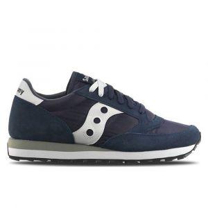 Scarpe Unisex Saucony Sneakers Jazz Navy Blue - Bianco