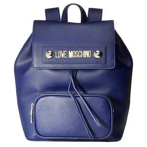 Zaino Donna LOVE MOSCHINO linea Lettering Love Blu