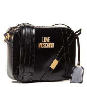 Borsa Donna a Tracolla LOVE MOSCHINO Nero con Logo