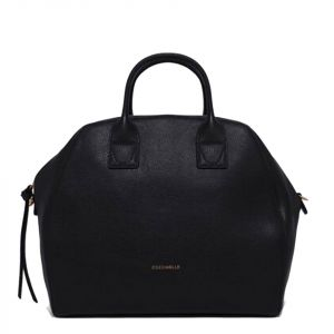 Borsa Donna a Mano COCCINELLE in Pelle Linea Ela Journal Maxi colore Nero