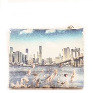 Beauty con Zip Y NOT stampa New York Landscape L-305