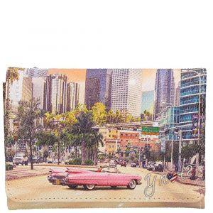 Portafoglio Donna con Bottone Y NOT L-346 Miami