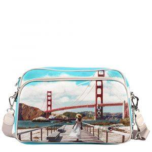 Borsa Donna a Tracolla Y NOT L-331 Golden Gate
