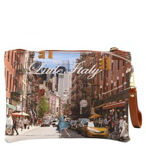 Pochette Donna con Zip Y NOT Little Italy L-342