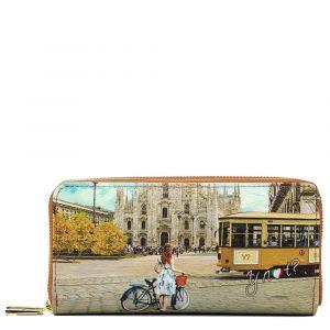 Portafoglio Donna con Doppia Zip Y NOT L-368 Fashion Tram