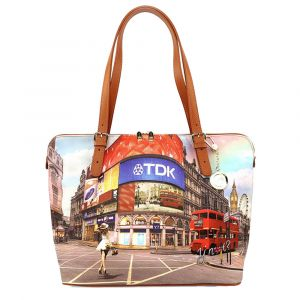 Borsa Donna Grande a Spalla Y NOT L-377 Princess in London