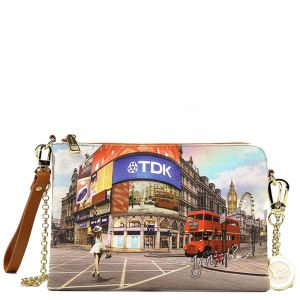 Borsa Donna Y NOT Pochette con Tracolla L-384 Princess in London