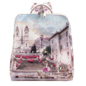 Zaino Donna Doppia Portabilità Y NOT - L-387 Pink Rome