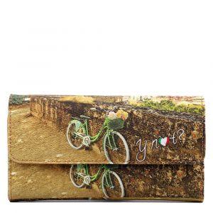 Portafoglio Donna Medio con Bottone Y NOT L-369 Roman Holiday