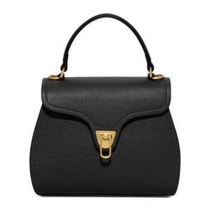 Borsa Donna a Mano COCCINELLE in Pelle linea Marvin Mini colore Nero