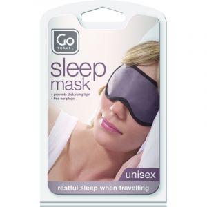 Maschera Paraluce con Tappi - Design Go Sleep Mask