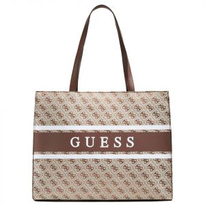 Borsa Donna a Spalla GUESS Linea Monique colore Marrone