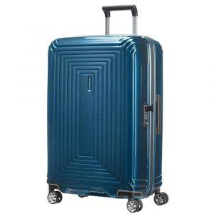 Trolley Grande Rigido 4 Ruote 75cm - Samsonite Neopulse colore Metallic Blue