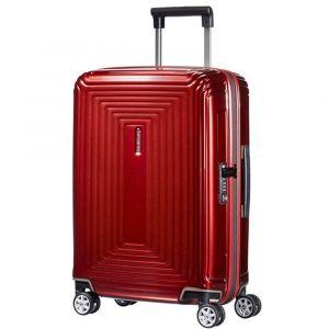 Trolley Cabina Rigido 4 Ruote 55cm - Samsonite Neopulse Metallic Red