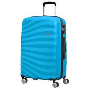 Trolley Medio Rigido 4 Ruote 68cm - Samsonite American Tourister Oceanfront Spring Blue