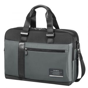 "Cartella Uomo Porta Pc 15,6"" e Tablet - Samsonite linea Openroad/Bailhandle Eclipse Grey"