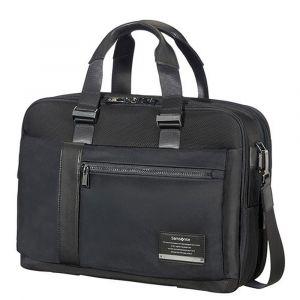 "Cartella Uomo Porta Pc 15,6"" e Tablet - Samsonite linea Openroad/Bailhandle Jet Black"