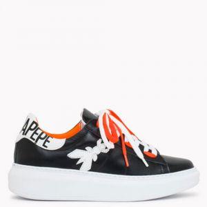 Sneakers Donna PATRIZIA PEPE in Pelle colore Nero - Arancione