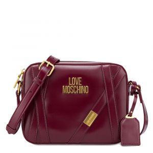 Borsa Donna a Tracolla LOVE MOSCHINO Bordeaux