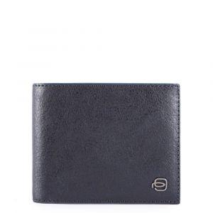 Portafoglio Uomo Piquadro In Pelle Blu con Portamonete e RFID - PU4188B2SR