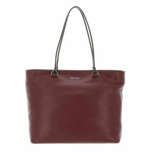 Borsa Shopping COCCINELLE in Pelle Linea Keyla colore Marsala