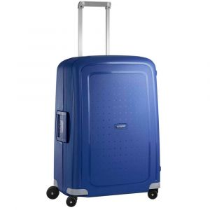 Trolley Medio 69cm 4 Ruote Leggero 4,2 kg  - Samsonite S'Cure Dark Blue