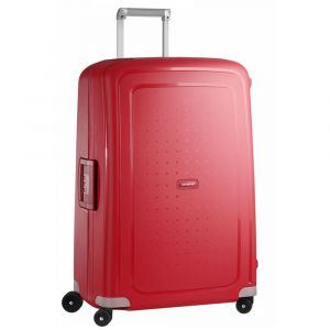 Trolley Grande 75 cm 4 Ruote Leggero 4,6 kg  - Samsonite S'Cure Crimson Red