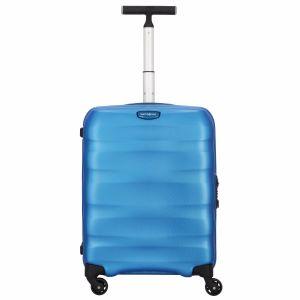Trolley Cabina 55cm 4 Ruote Leggero 2,2kg  - Samsonite Engenero Cielo Blu