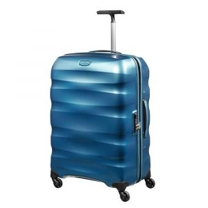 Trolley Medio 69cm 4 Ruote Leggero 3,2kg  - Samsonite Engenero Cielo Blu