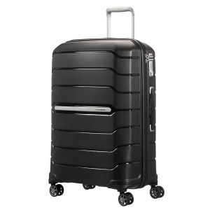 Trolley Medio 68cm Espandibile 4 Ruote - Samsonite Flux Nero