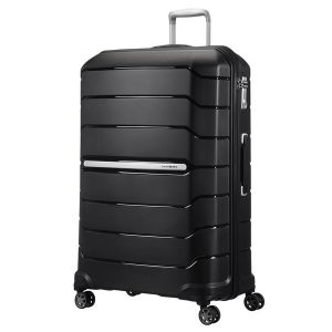 Trolley Grande 75cm Espandibile 4 Ruote - Samsonite Flux Nero