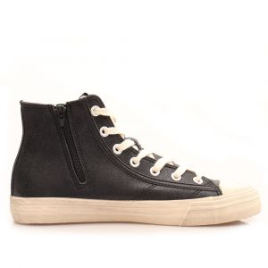 Scarpe Uomo GUESS Sneakers Alte di colore Nero