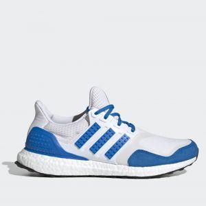 Scarpe Uomo ADIDAS Sneakers linea Ultraboost DNA x Lego colore Bianco e Blu