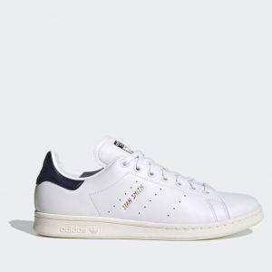 Scarpe ADIDAS Sneakers linea Stan Smith colore Bianco e Blu Scuro