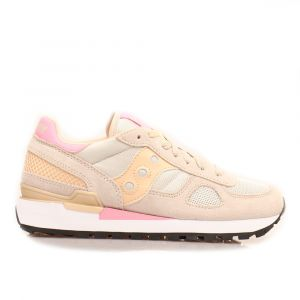 Scarpe Donna Saucony Sneakers Shadow Original Tan - Almond - Pink