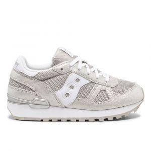 Scarpe Bambina Saucony Sneakers Shadow Original Kids Silver Metallic