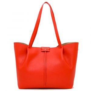 Borsa Donna in Pelle PATRIZIA PEPE Shopping a Spalla 2V8895 Lipstick Red